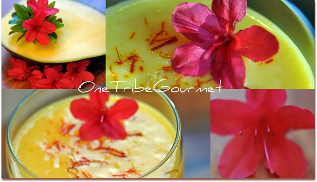 Post image for Low-Fat Green Mango & Saffron Smoothie